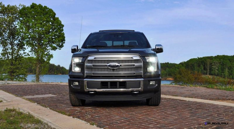 2015 Ford F-150 Platinum 4x4 Supercrew Review 107