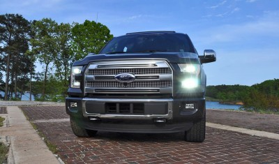 2015 Ford F-150 Platinum 4x4 Supercrew Review 108