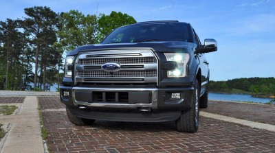 2015 Ford F-150 Platinum 4x4 Supercrew Review 109