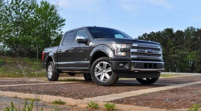 2015 Ford F-150 Platinum 4x4 Supercrew Review 11