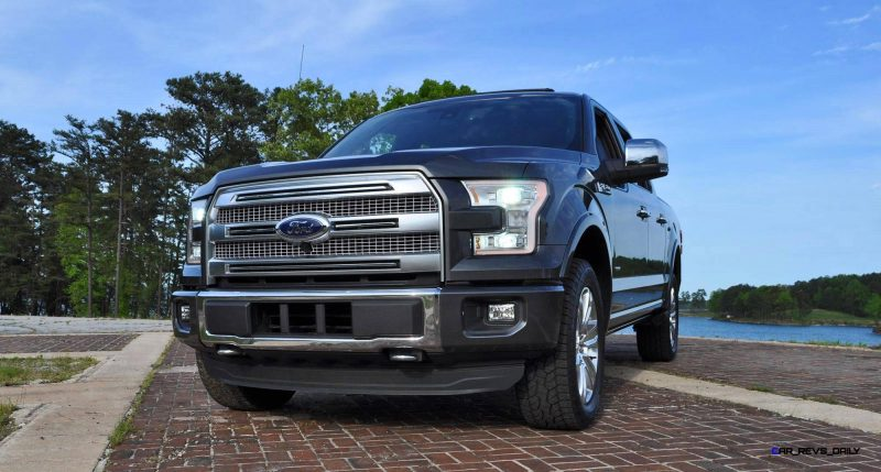 2015 Ford F-150 Platinum 4x4 Supercrew Review 110