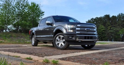 2015 Ford F-150 Platinum 4x4 Supercrew Review 12