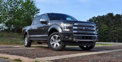 2015 Ford F-150 Platinum 4x4 Supercrew Review 13