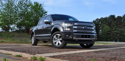 2015 Ford F-150 Platinum 4x4 Supercrew Review 14