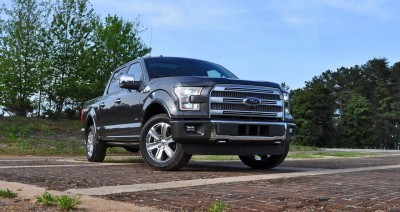 2015 Ford F-150 Platinum 4x4 Supercrew Review 16