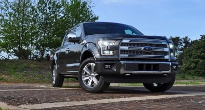 2015 Ford F-150 Platinum 4x4 Supercrew Review 17