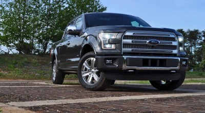 2015 Ford F-150 Platinum 4x4 Supercrew Review 18