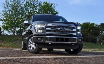 2015 Ford F-150 Platinum 4x4 Supercrew Review 20