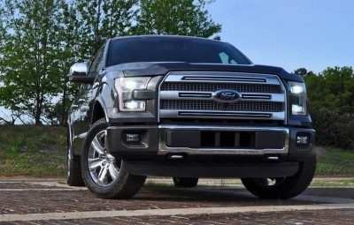 2015 Ford F-150 Platinum 4x4 Supercrew Review 21