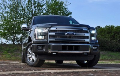 2015 Ford F-150 Platinum 4x4 Supercrew Review 22