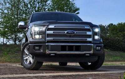 2015 Ford F-150 Platinum 4x4 Supercrew Review 23