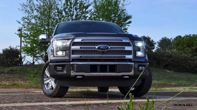 2015 Ford F-150 Platinum 4x4 Supercrew Review 25