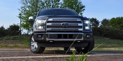 2015 Ford F-150 Platinum 4x4 Supercrew Review 26