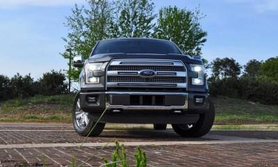 2015 Ford F-150 Platinum 4x4 Supercrew Review 28