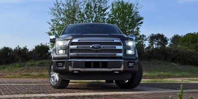 2015 Ford F-150 Platinum 4x4 Supercrew Review 29