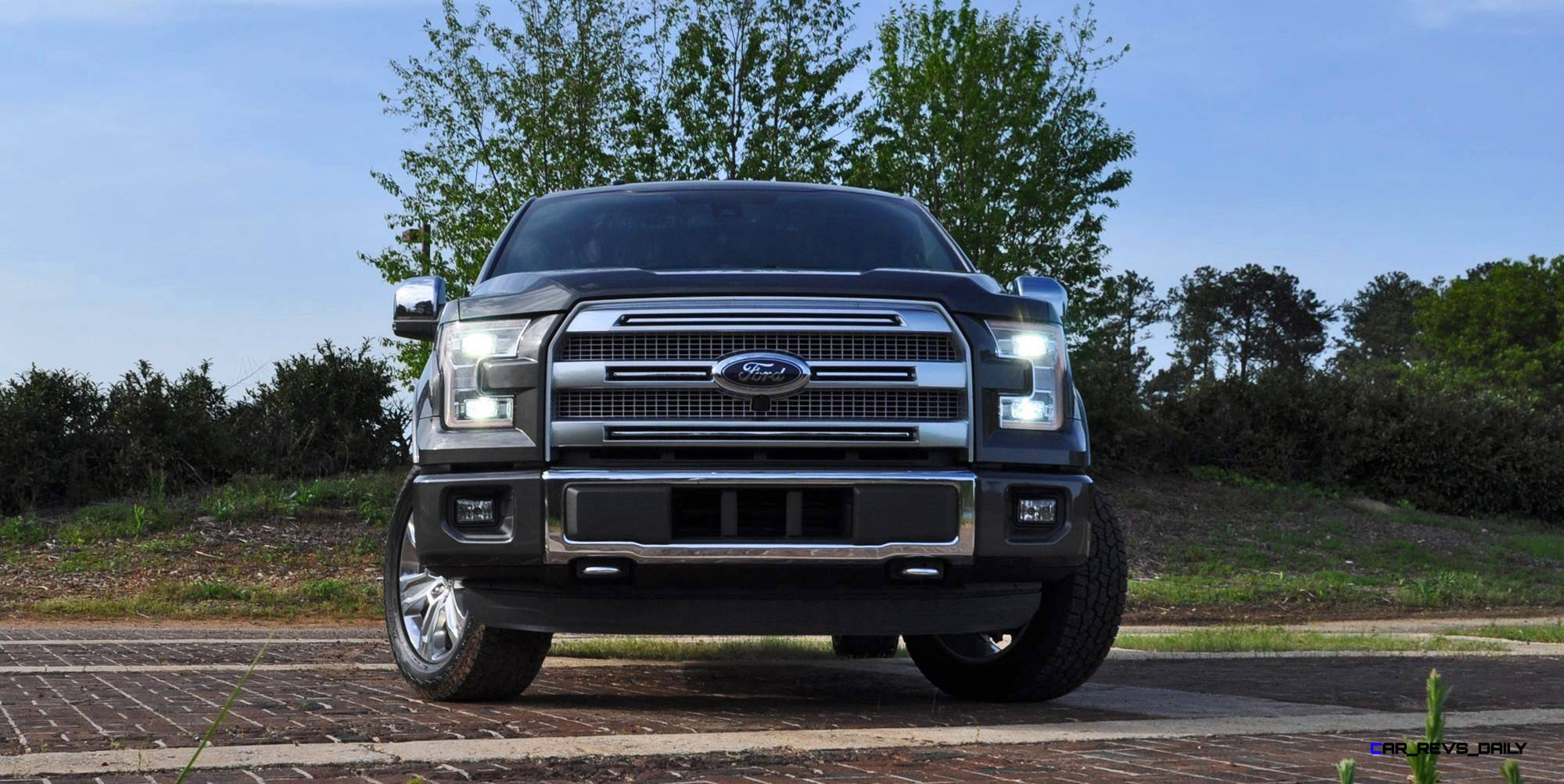 Wonderful 2015 Ford F150 Platinum 4x4 Supercrew Review