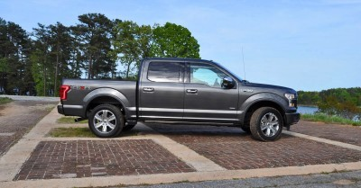 2015 Ford F-150 Platinum 4x4 Supercrew Review 3