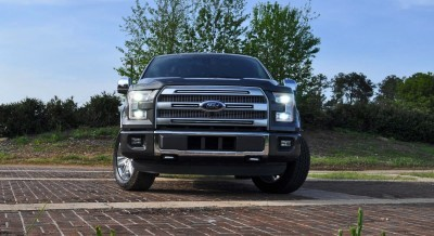 2015 Ford F-150 Platinum 4x4 Supercrew Review 30