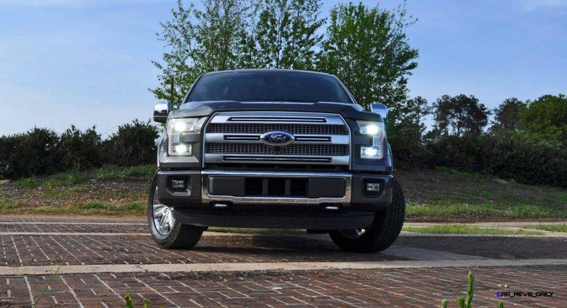 2015 Ford F-150 Platinum 4x4 Supercrew Review 30