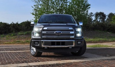 2015 Ford F-150 Platinum 4x4 Supercrew Review 31