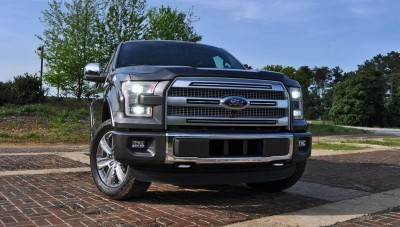 2015 Ford F-150 Platinum 4x4 Supercrew Review 33