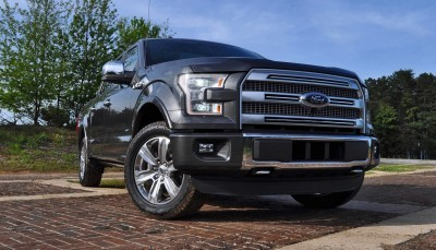 2015 Ford F-150 Platinum 4x4 Supercrew Review 34