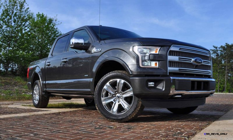 2015 Ford F-150 Platinum 4x4 Supercrew Review 35