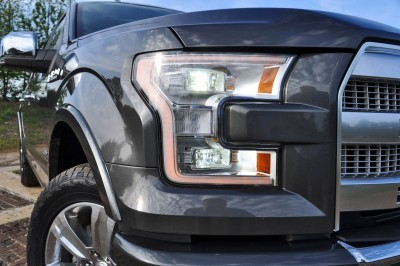2015 Ford F-150 Platinum 4x4 Supercrew Review 37