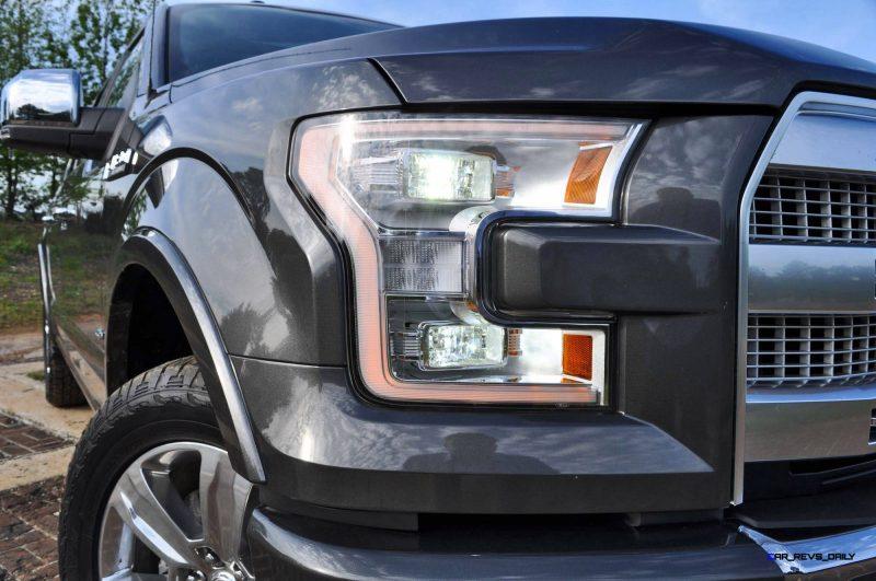 2015 Ford F-150 Platinum 4x4 Supercrew Review 37