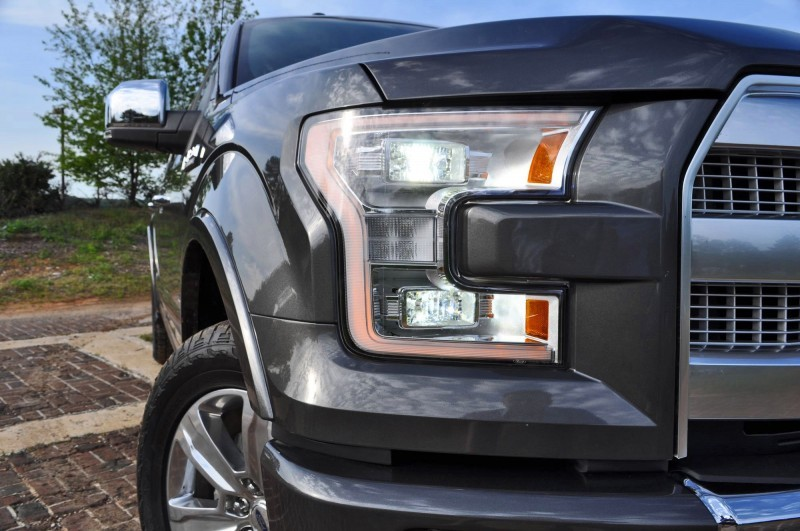 2015 Ford F-150 Platinum 4x4 Supercrew Review 38