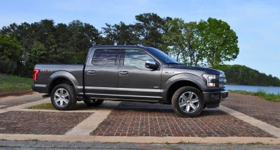 2015 Ford F-150 Platinum 4x4 Supercrew Review 4