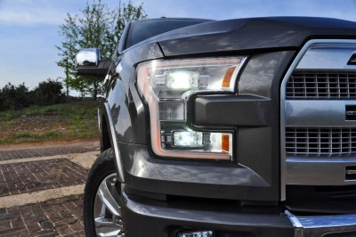 2015 Ford F-150 Platinum 4x4 Supercrew Review 40