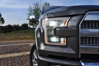 2015 Ford F-150 Platinum 4x4 Supercrew Review 41