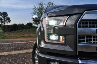 2015 Ford F-150 Platinum 4x4 Supercrew Review 42