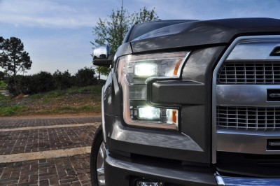 2015 Ford F-150 Platinum 4x4 Supercrew Review 43