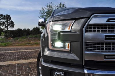 2015 Ford F-150 Platinum 4x4 Supercrew Review 44