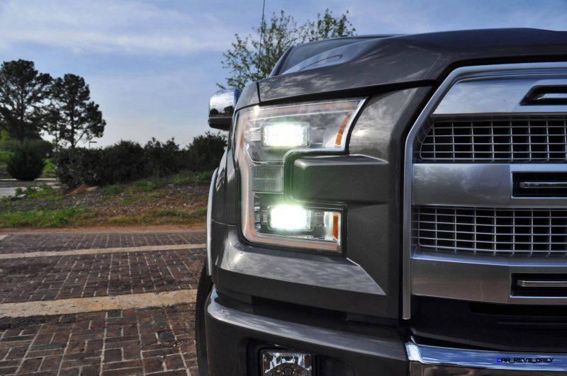 2015 Ford F-150 Platinum 4x4 Supercrew Review 45