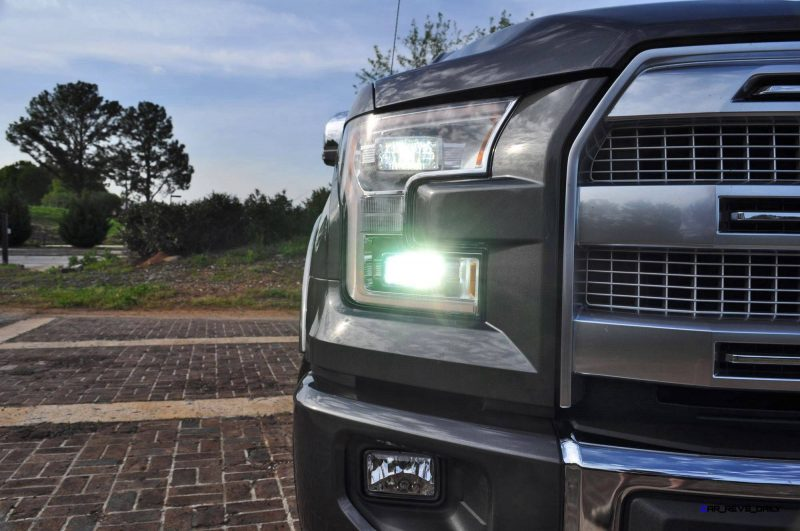 2015 Ford F-150 Platinum 4x4 Supercrew Review 46