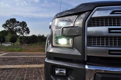 2015 Ford F-150 Platinum 4x4 Supercrew Review 47