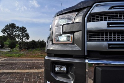 2015 Ford F-150 Platinum 4x4 Supercrew Review 49