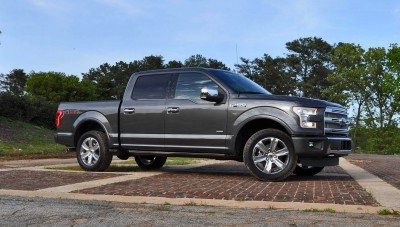 2015 Ford F-150 Platinum 4x4 Supercrew Review 5