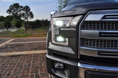 2015 Ford F-150 Platinum 4x4 Supercrew Review 52