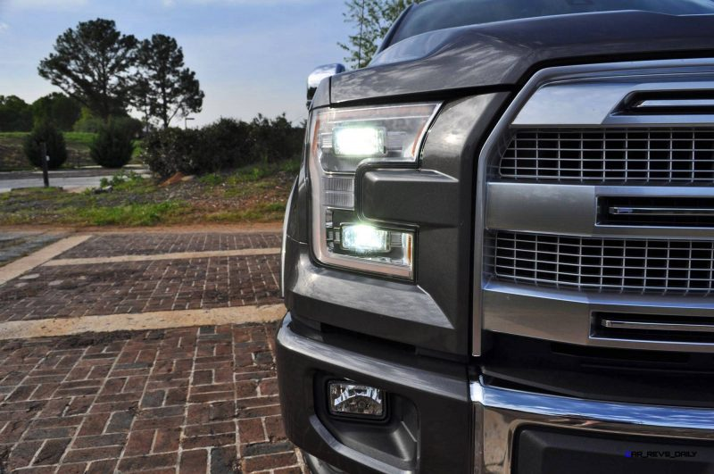 2015 Ford F-150 Platinum 4x4 Supercrew Review 52