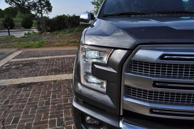 2015 Ford F-150 Platinum 4x4 Supercrew Review 53
