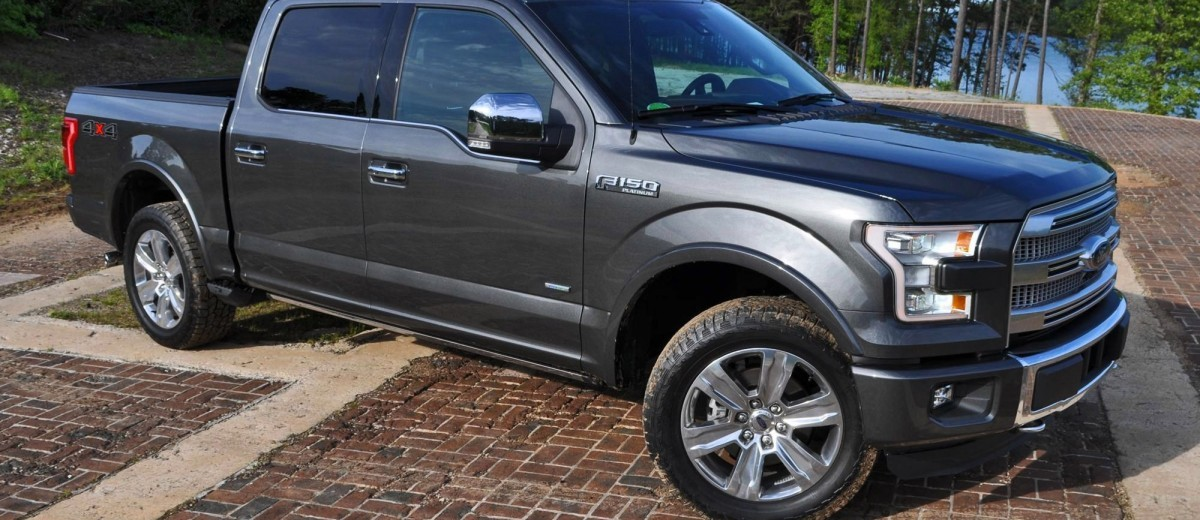 2015 Ford F-150 Platinum 4x4 Supercrew Review 54