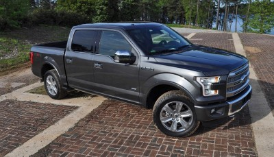 2015 Ford F-150 Platinum 4x4 Supercrew Review 55