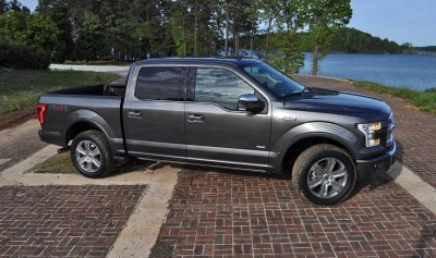 2015 Ford F-150 Platinum 4x4 Supercrew Review 56