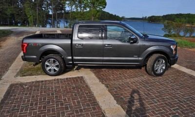 2015 Ford F-150 Platinum 4x4 Supercrew Review 57