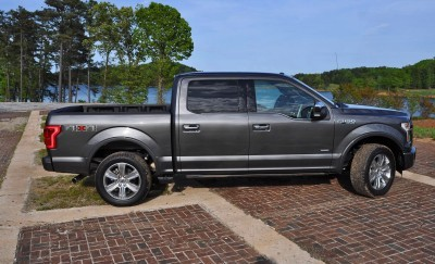 2015 Ford F-150 Platinum 4x4 Supercrew Review 58