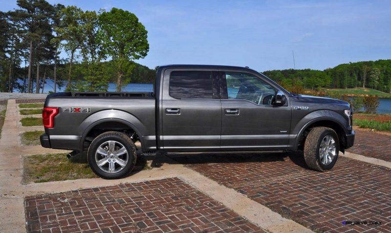 2015 Ford F-150 Platinum 4x4 Supercrew Review 59